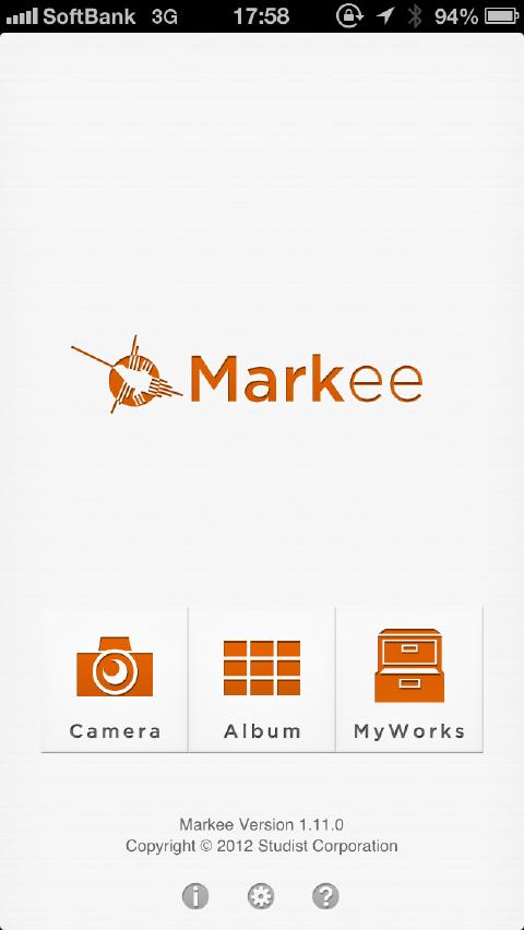 簡単に画像に文字や図形を書き込むことができるアプリ Markee